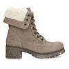 Zimowe buty damskie ze skóry weinbrenner, brązowy, 696-4336 - 19