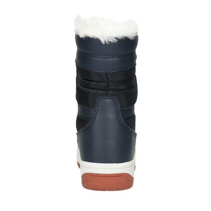 Śniegowce damskie zfuterkiem bata, niebieski, 599-9617 - 17