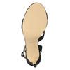 Wyjściowe sandały damskie zkryształkami bata, czarny, 729-6611 - 17
