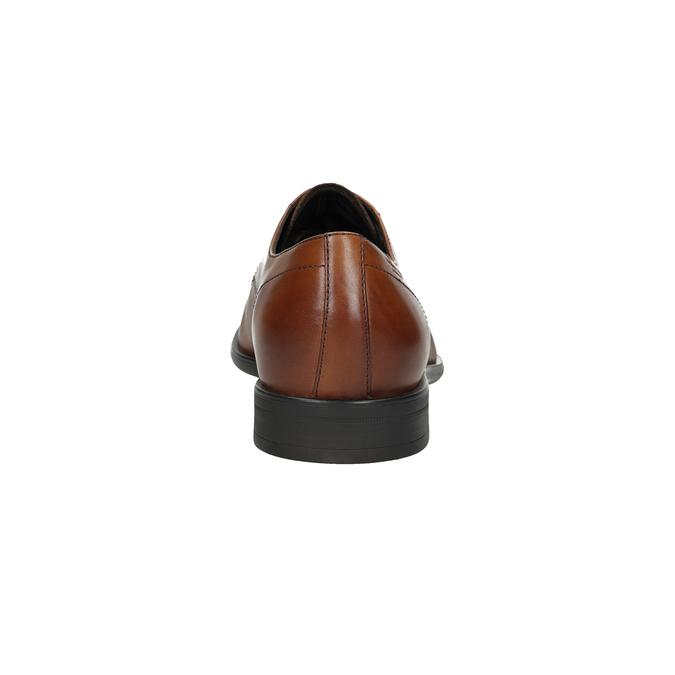 Skórzane półbuty męskie vagabond, brązowy, 824-3026 - 15