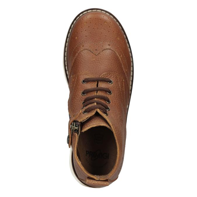 Skórzane botki dziecięce primigi, brązowy, 314-3004 - 17