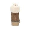 Zimowe buty damskie zfuterkiem bata, brązowy, 593-4607 - 16