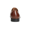 Brązowe skórzane półbuty męskie bata, brązowy, 826-3758 - 15
