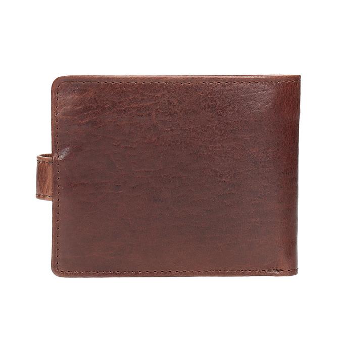 Skórzany pasek iportfel wzestawie upominkowym bata, brązowy, 954-3201 - 16