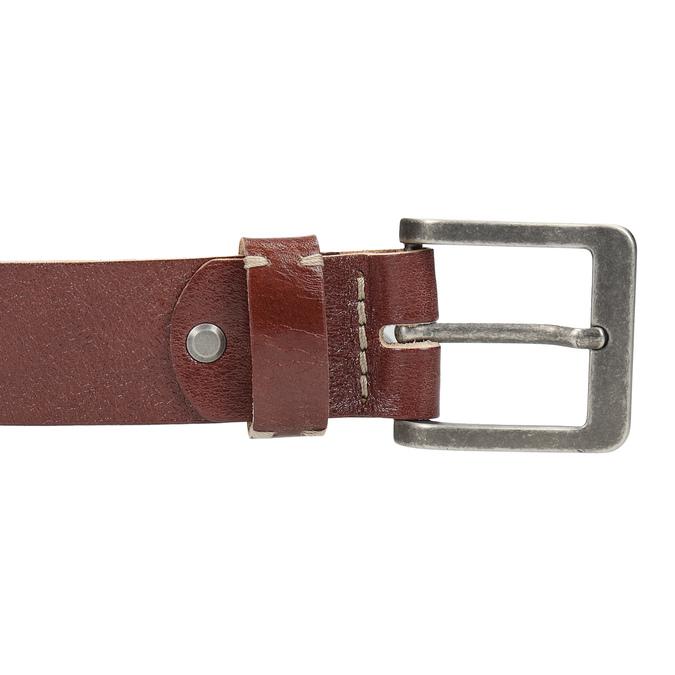 Skórzany pasek iportfel wzestawie upominkowym bata, brązowy, 954-3201 - 17