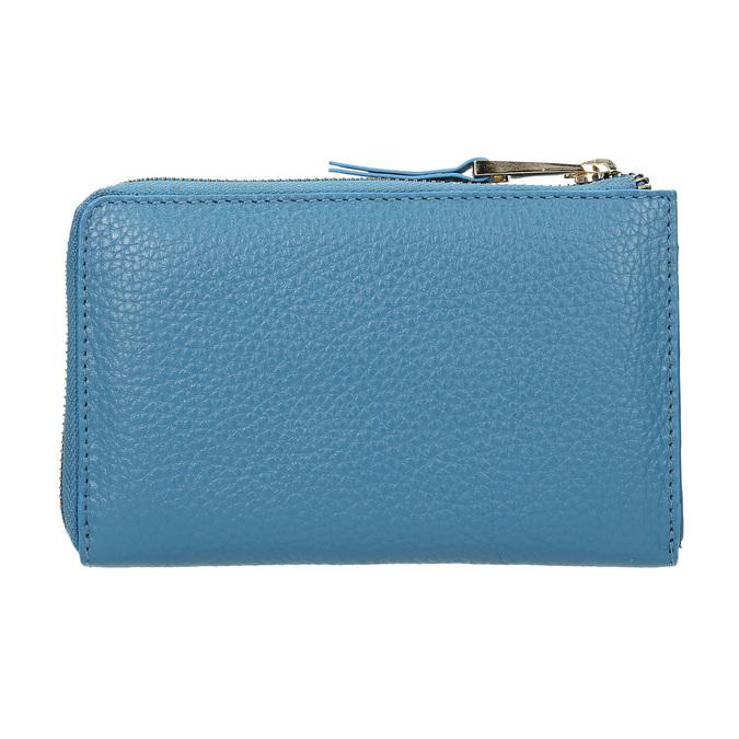 Niebieski portfel ze skóry bata, niebieski, 946-9284 - 16