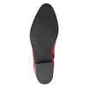 Czerwone botki bata, czerwony, 594-5665 - 19