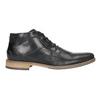 Męskie buty za kostkę bata, czarny, 826-6926 - 26