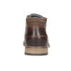 Skórzane buty męskie za kostkę bata, brązowy, 826-3926 - 16