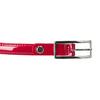 Czerwony lakierowany pasek bata, czerwony, 951-5603 - 26