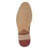 Brązowe nieformalne półbuty ze skóry bata, brązowy, 826-3853 - 17