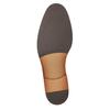 Brązowe skórzane półbuty męskie bata, brązowy, 826-3997 - 17
