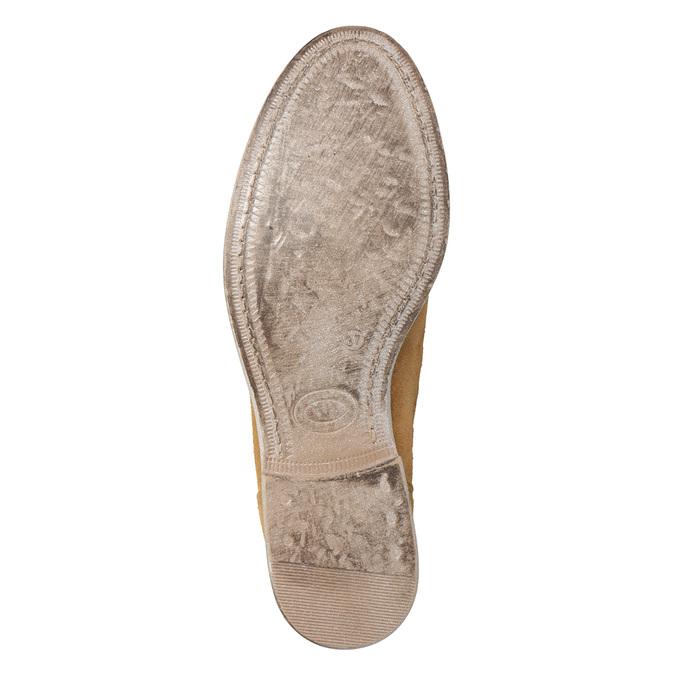 Perforowane kozaki damskie bata, brązowy, 596-4688 - 19