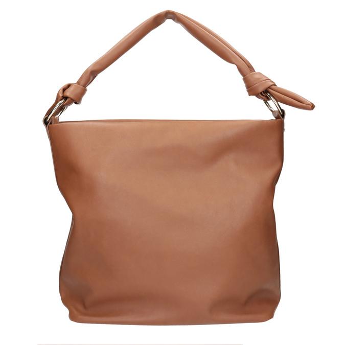 Brązowa torba damska wstylu hobo bata, brązowy, 961-3843 - 26
