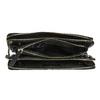 Skórzana torebka typu crossbody zzamkami błyskawicznymi royal-republiq, czarny, 964-6082 - 15