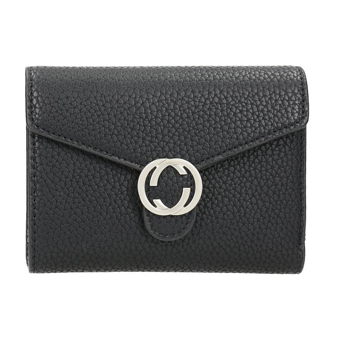 Czarny portfel damski bata, czarny, 941-6213 - 26