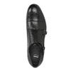 Czarne skórzane monki bata, czarny, 824-6730 - 17