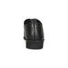 Półbuty damskie zwyraźną perforacją bata, czarny, 521-6610 - 15