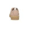 Różowe skórzane trampki zćwiekami mini-b, 326-5605 - 15