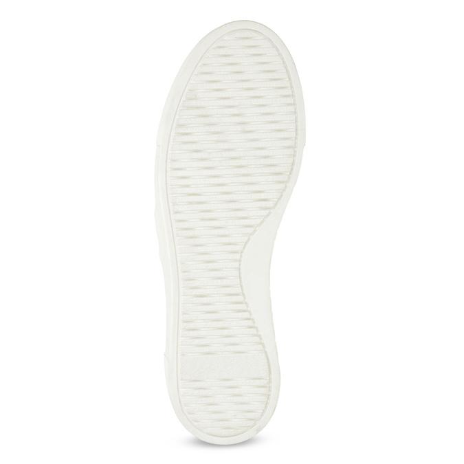 Slip-on damskie zmetalową klamrą bata, szary, 513-2600 - 18