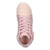 Różowe trampki za kostkę zkryształkami mini-b, różowy, 229-5107 - 17