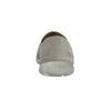Męskie slip-on ze skóry weinbrenner, szary, 836-2602 - 15