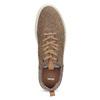 Nieformalne zamszowe trampki bata, brązowy, 843-4637 - 17