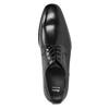 Czarne skórzane półbuty typu angielki bata, czarny, 824-6981 - 15