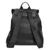 Czarny plecak damski bata, czarny, 961-6833 - 16