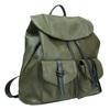 Zielony plecak damski bata, khaki, 961-7833 - 13