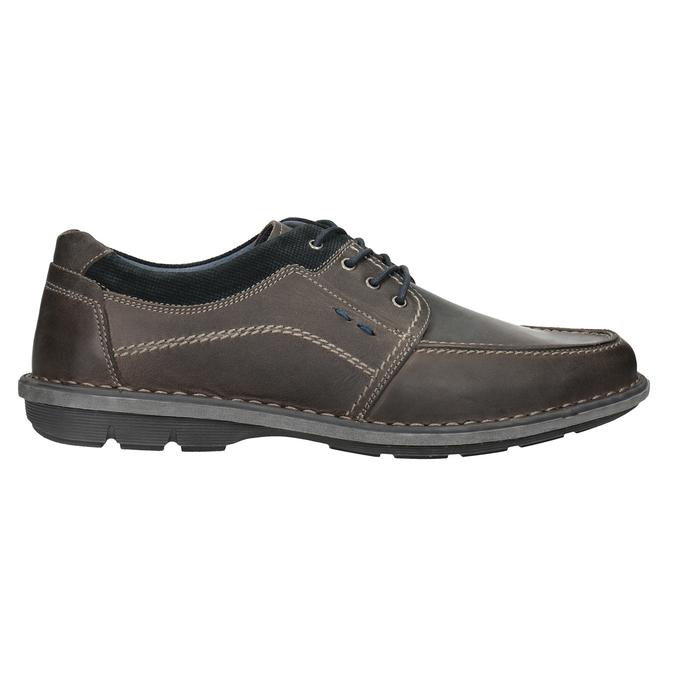 Nieformalne skórzane półbuty męskie bata, 826-2654 - 16