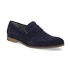 Granatowe mokasyny wstylu penny loafersów vagabond, niebieski, 813-9053 - 13
