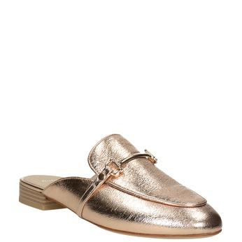 Klapki damskie zwędzidłami bata, złoty, 511-8609 - 13