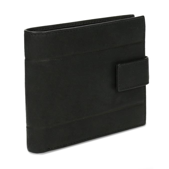 Skórzany portfel męski bata, czarny, 944-6210 - 13