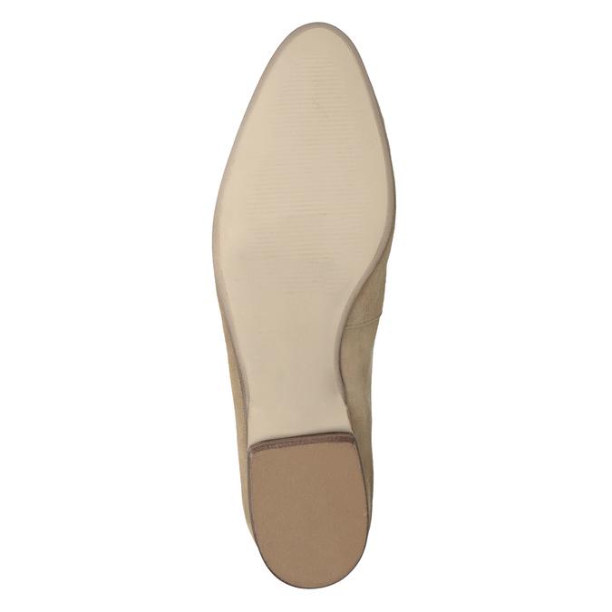 Nieformalne zamszowe mokasyny bata, brązowy, 516-4618 - 19