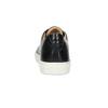Skórzane trampki męskie bata, czarny, 844-6648 - 15
