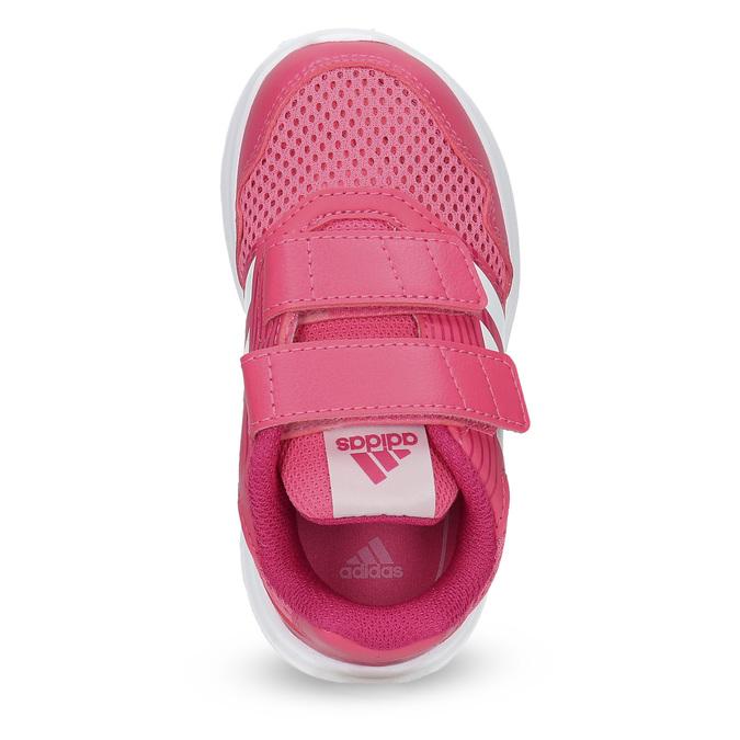 Różowe trampki dziecięce adidas, różowy, 109-5147 - 17