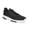 Czarne trampki męskie wsportowym stylu adidas, czarny, 809-6101 - 13