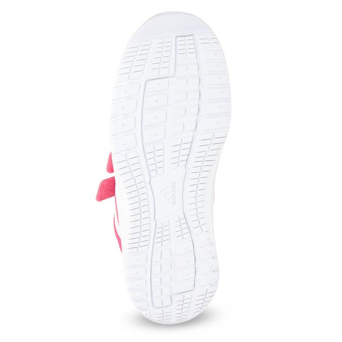 Różowe trampki na rzepy adidas, różowy, 309-5148 - 18