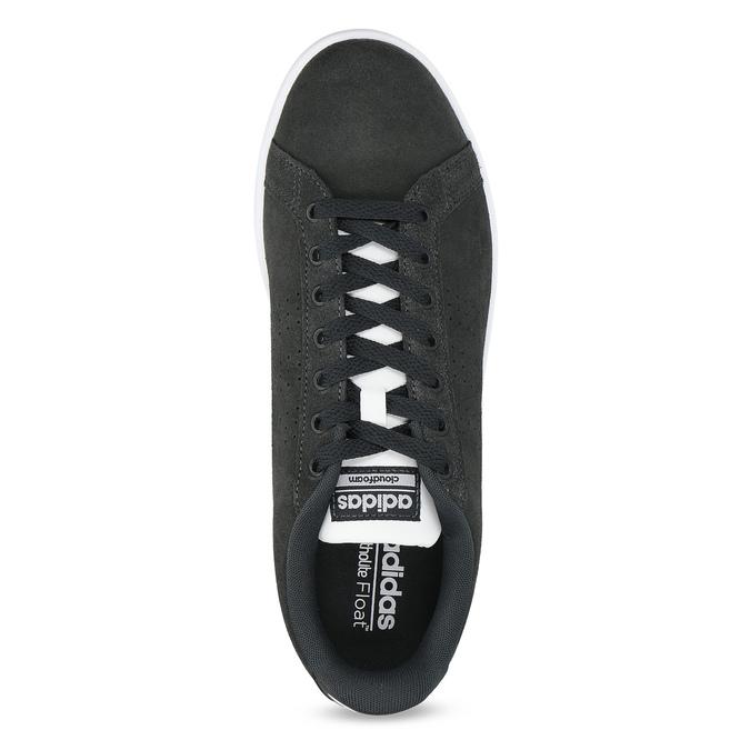 Nieformalne zamszowe trampki adidas, czarny, 803-6394 - 17