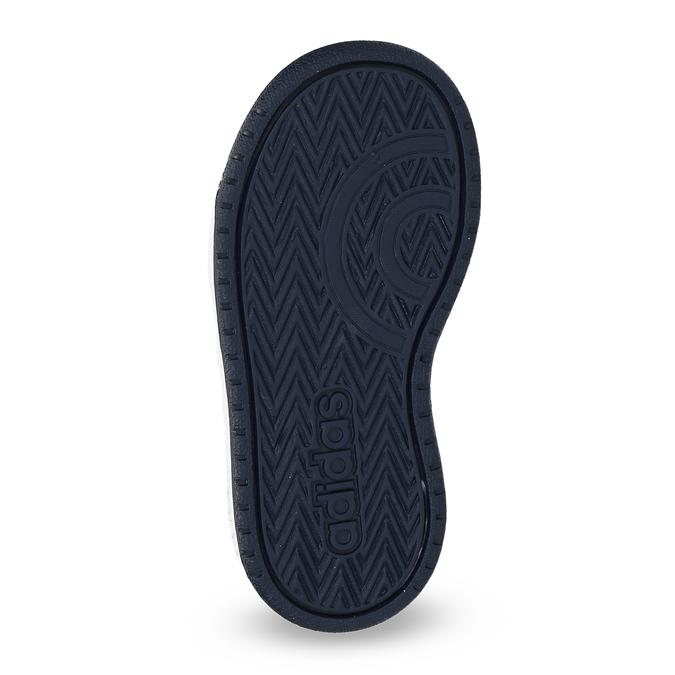 Niebieskie trampki chłopięce za kostkę adidas, niebieski, 101-9125 - 18