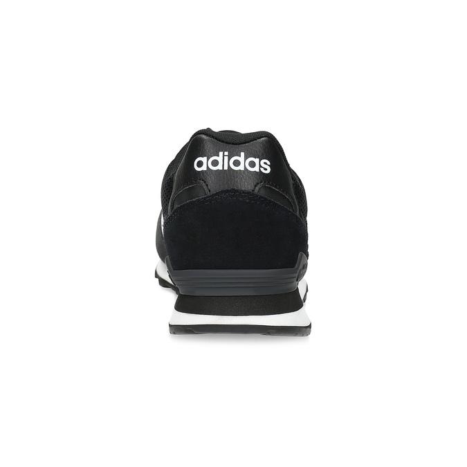 Czarne zamszowe trampki męskie adidas, czarny, 803-6293 - 15
