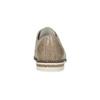 Skórzane półbuty damskie bata, beżowy, 526-8650 - 15