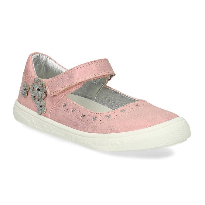 Różowe baleriny dziewczęce mini-b, różowy, 221-5216 - 13