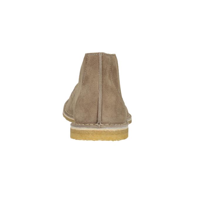 Skórzane buty pustynne męskie bata, 823-8622 - 15