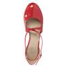 Lakierowane czółenka damskie insolia, czerwony, 721-5611 - 15