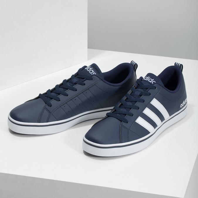 Nieformalne trampki męskie adidas, niebieski, 801-9136 - 16