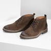 Skórzane obuwie wstylu chukka bata, brązowy, 823-4627 - 16