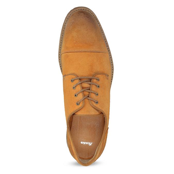 Zamszowe półbuty męskie bata, brązowy, 823-3626 - 17