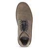 Skórzane buty męskie za kostkę bata, brązowy, 823-8629 - 17